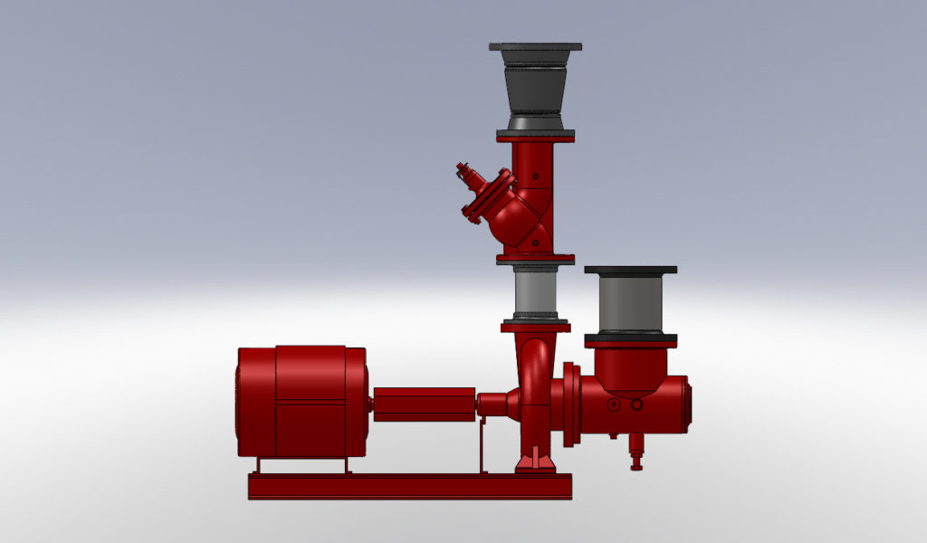 hydronic pump assembly