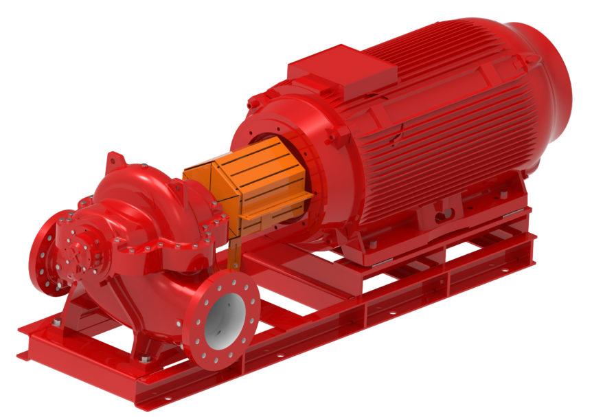 double suction pump - pump efficiency