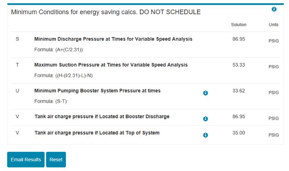 screenshot of the RL Deppmann Design tool showing energy savings calculator tool