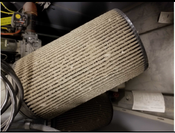 Dirty Aerco filter