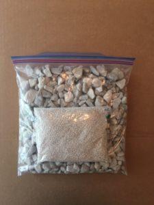 bag of limestone