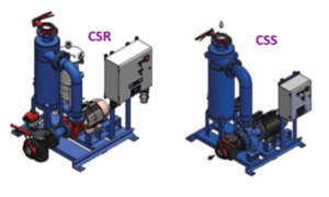 Griswold Water Systems model CSS separator system and model CSR closed recovery separator system