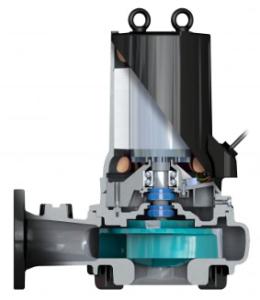 Bell & Gossett sewage wastewater pump