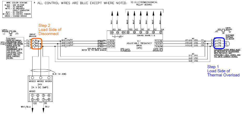 Danfoss 102 Wiring Diagram
