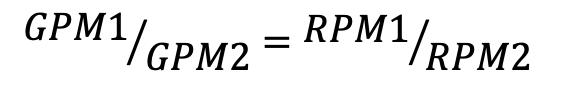 affinity law