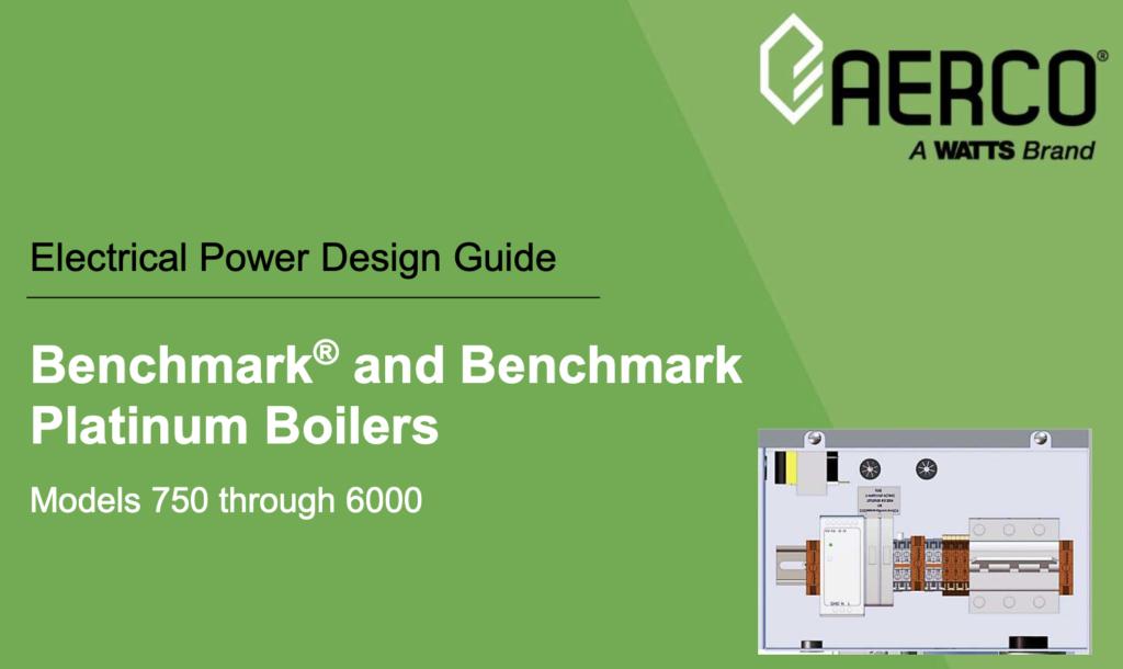 Aerco Benchmark & Platinum Benchmark Boilers (Diagram)