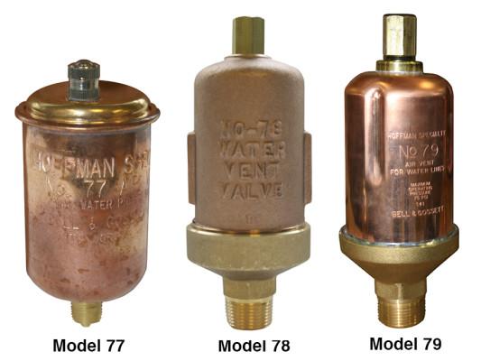 Bell & Gossett Hoffman Specialty Water Vent Series