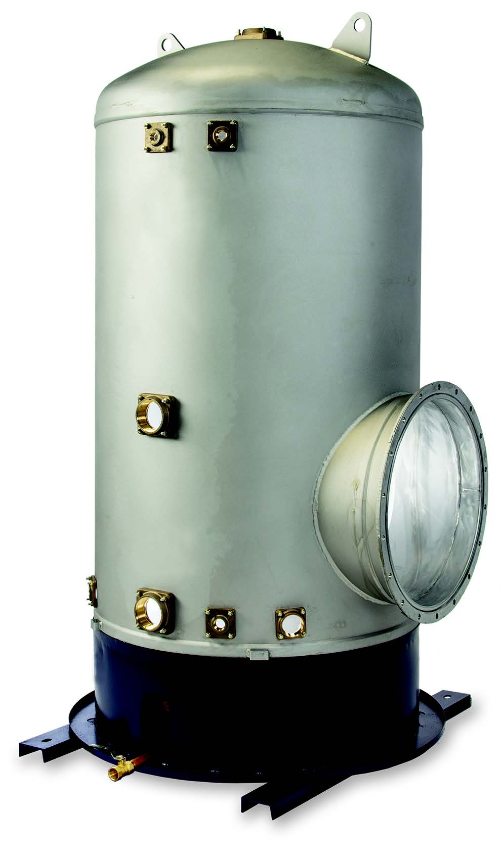 Gas fired commercial water heaters tank